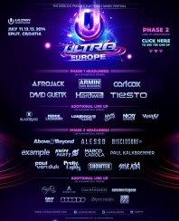 11-14.07.2014 Ultra Europe - Eventreise
