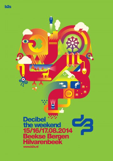 16.08.2014 Decibel outdoor festival Eventreise