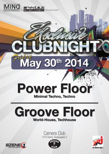 2014-05-30 ExSclusive Clubnight @ Camera Club 2014