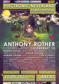 12.09.2015 - Electronic Neverland Festival Eventreise - Abgesagt