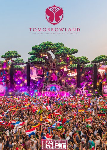 July 21, 22, 23 and July 28, 29, 30 Tomorrowland 2017 Eventreise - Sold Out